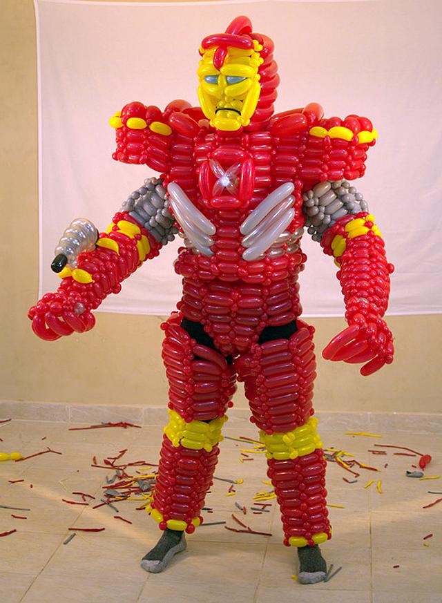 Iron Man Balloon Costume