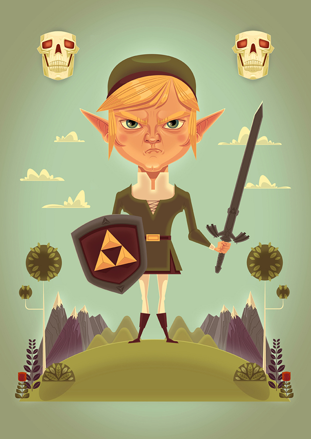Zelda Stance by James Gilleard