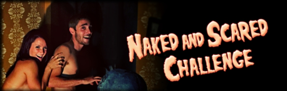 Naked and Scared challenge at Shocktoberfest