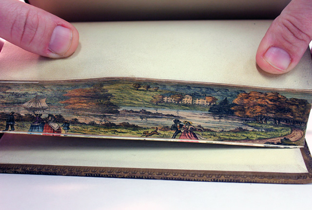 Fore-edge paintings
