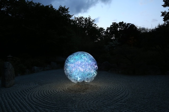 Bruce Munro light art