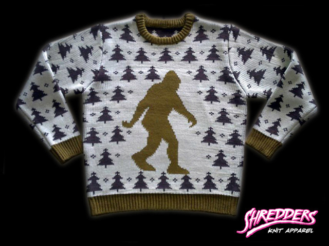 Holiday Sweaters With Bigfoot, Krampus, the 'Christmas Story' Leg ...