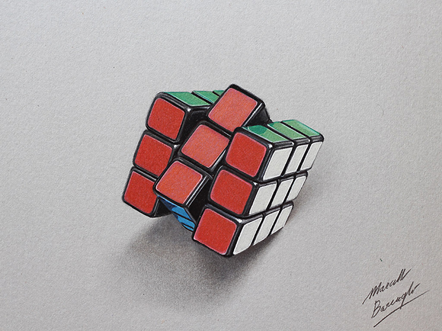 realistic colored pencil drawings of common objects