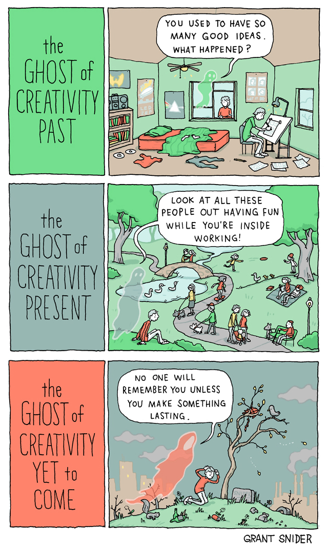 The Ghosts of Creativity