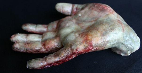 Rum-Filled Corpse-Like Chocolate Hands and Feet