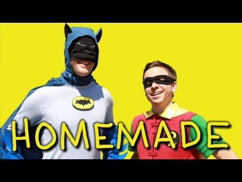 Homemade Remake of the 1966 'Batman' TV Series Intro