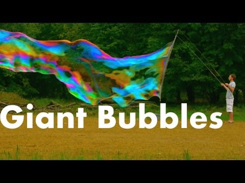 How to Make Huge Soap Bubbles