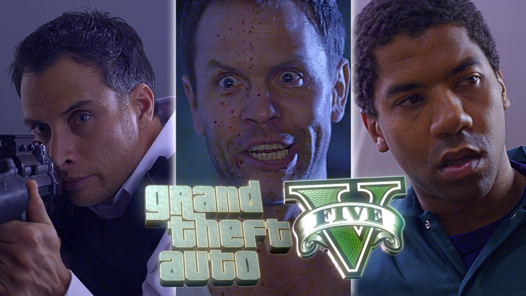 Live Action Movie Trailer Based on the Video Game 'Grand Theft Auto V'