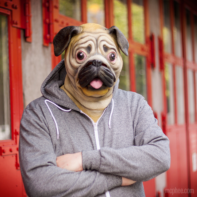Pug Mask, A Latex Mask So You Can Look Like a Dog - photo#40