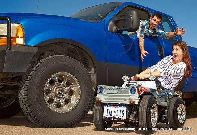 The World's Smallest Roadworthy Car