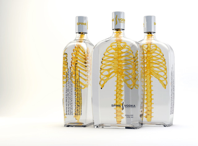 Spine Vodka by Johannes Schulz