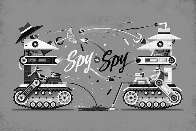 Spy vs. Spy by DKNG