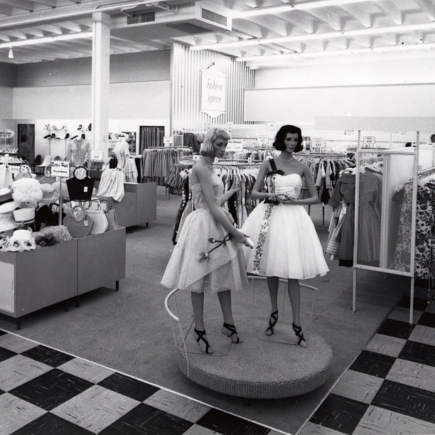 1950s clothing store