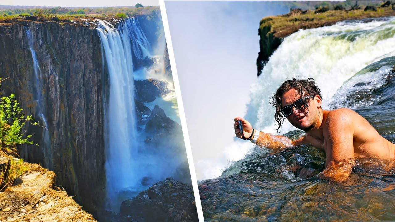 The devil 39 s pool casey neistat 39 s mission to swim in africa 39 s victoria falls for Devils swimming pool victoria falls