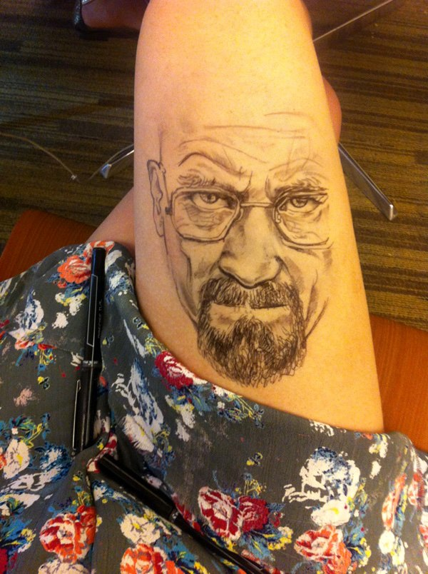 Thigh Art