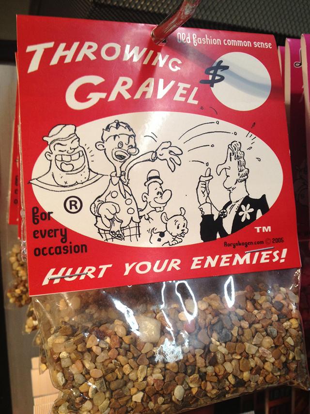 Throwing Gravel Rory Skagen