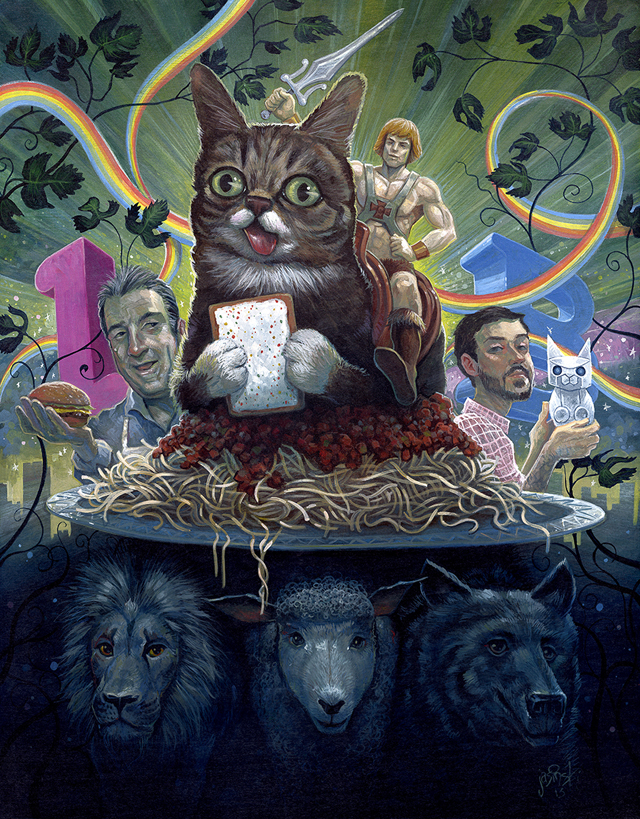 By the Power of Bub by Aaron Jasinski