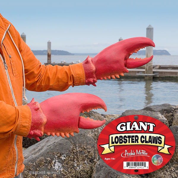 Giant Lobster Claws For Your Hands