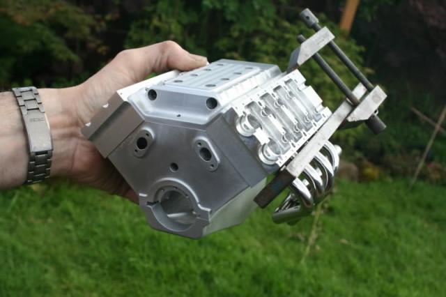 1/4 Scale V8 Engine