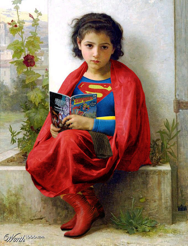 Little Supergirl by aards2