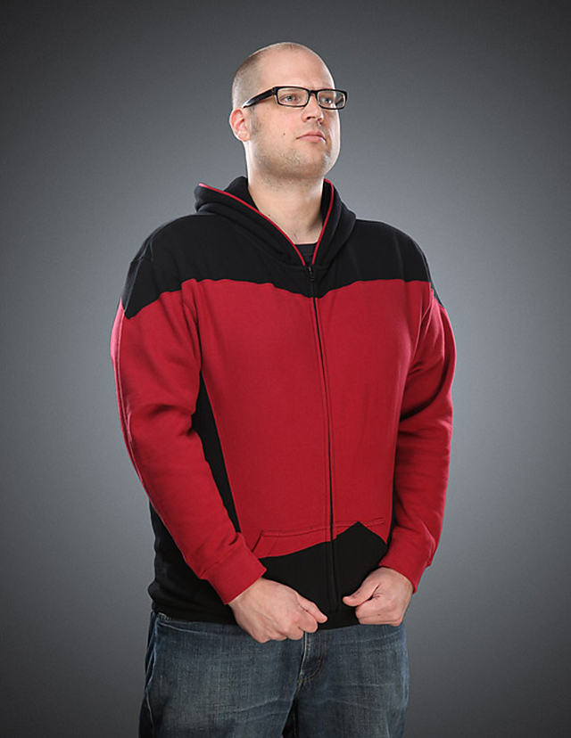 Star Trek: The Next Generation Uniform Hoodie