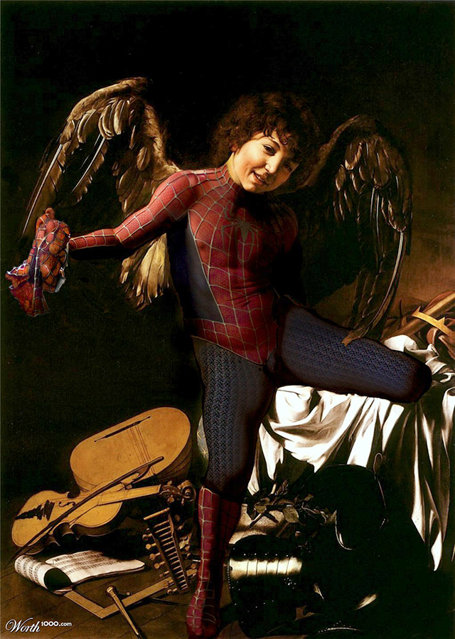 Baby Spider-Man by silberto67
