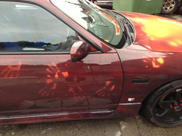 Heat Changing Car Paint