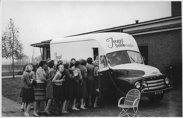 Photos of Early Bookmobiles