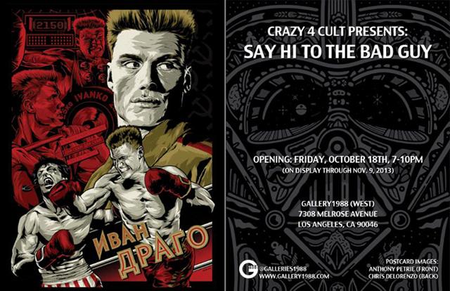 Crazy 4 Cult Presents Say Hi to the Bad Guy