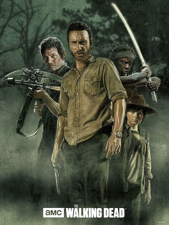 Walking Dead POV by Paul Shipper