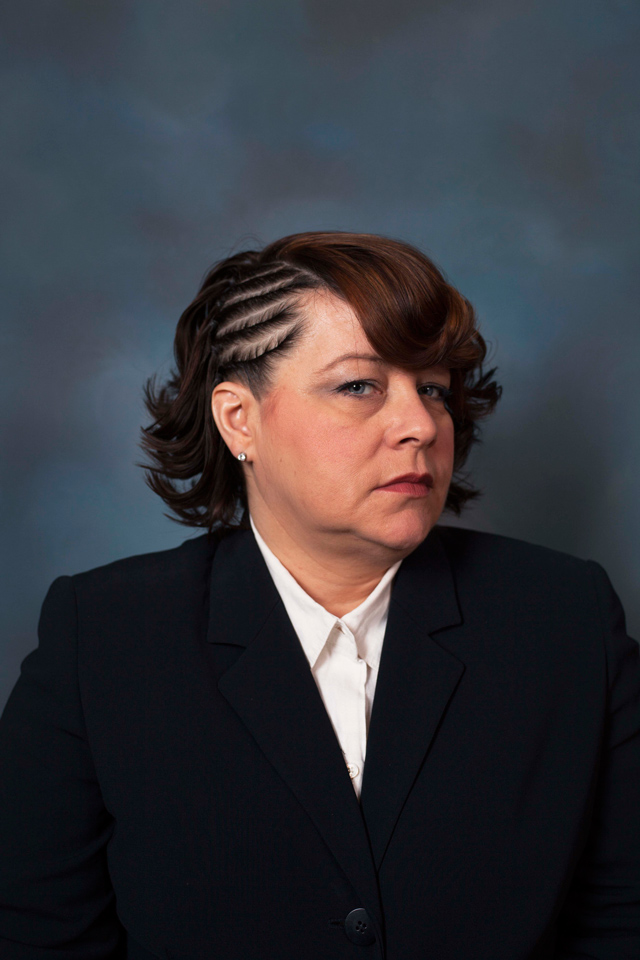 Corporate Portraits Of Middle Aged White Women With Black Hairstyles