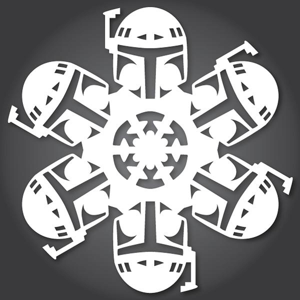 Boba Fett Star Wars Snowflake