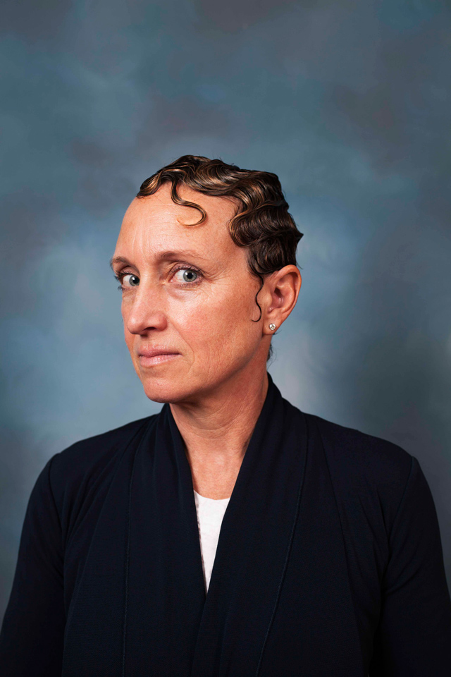 Corporate Portraits of Middle-Aged White Women With 'Black' Hairstyles