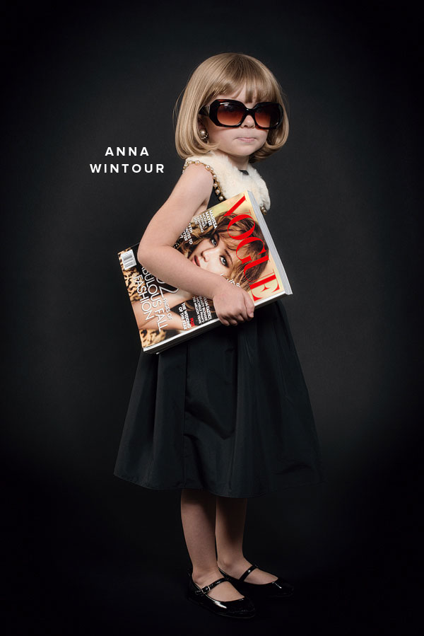DIY Kid's Halloween Costumes of Fashion Icons
