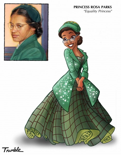 Real Life Role Models Transformed Into Disney Princesses