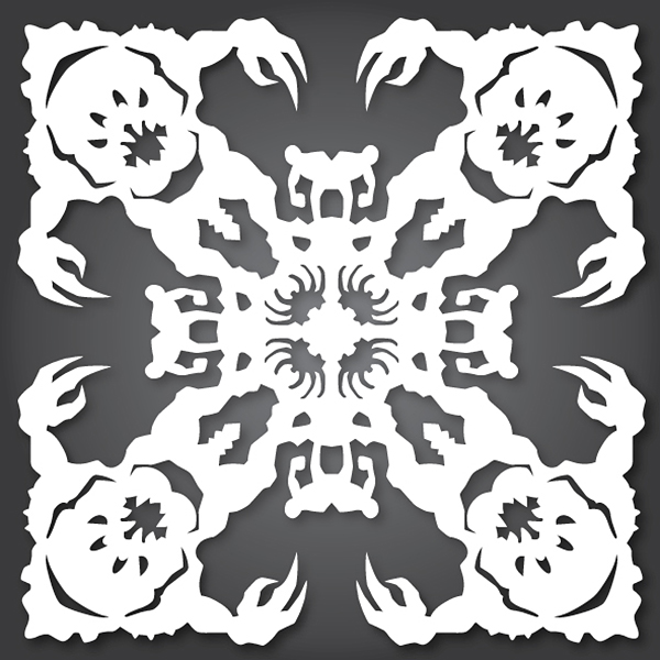 Rancor Star Wars Snowflake