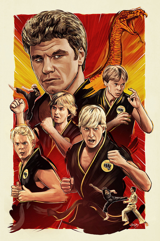 We Do Not Train to be Merciful Here by Sam Gilbey (Karate Kid)