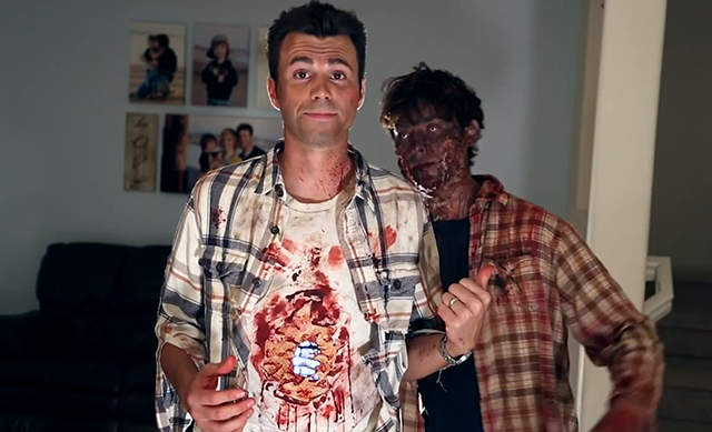Gut-Ripping iPhone Halloween Costume