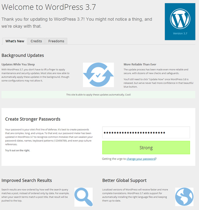Calendar Wallpaper Automatic Update : Wordpress featuring automatic background updates