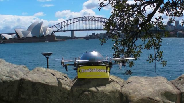 Australian Company to Use Drones to Deliver Textbooks