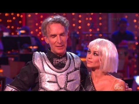 Bill Nye Dances Like a Robot to Daft Punk's 'Get Lucky' in His Final 'Dancing With the Stars' Performance