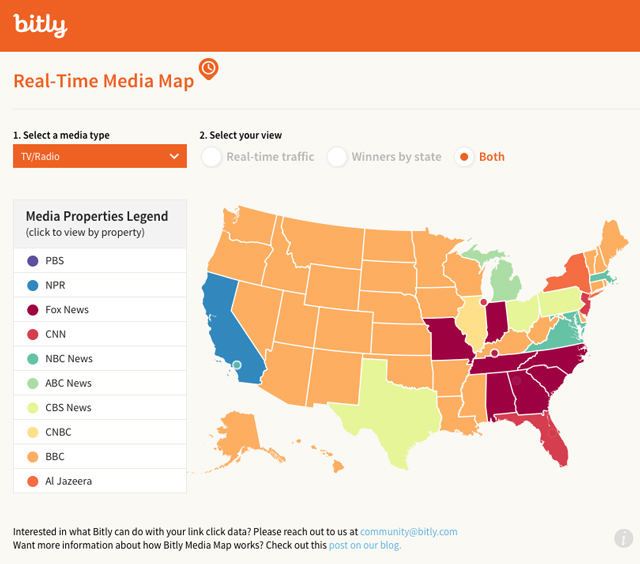 The Bitly Media Map