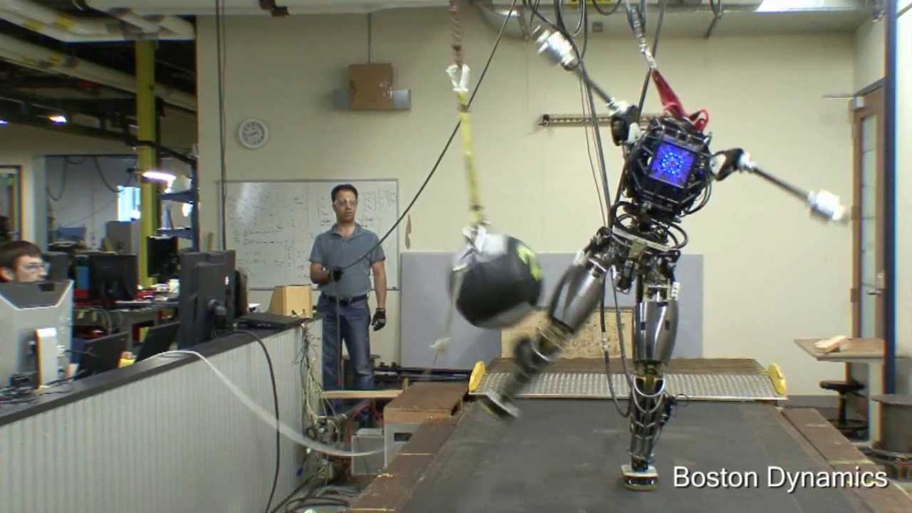 Boston Dynamics' Humanoid Robot Atlas Shows Off Its Balancing Skills