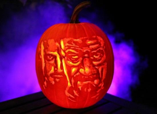 Breaking Bad pumpkin
