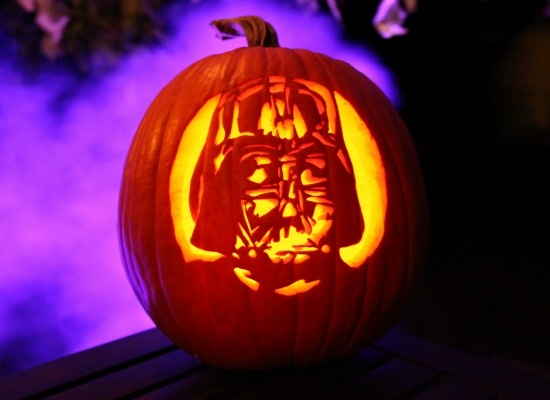 Patterns to Carve Pumpkins Into Darth Vader, the 'Hangover' Baby & More
