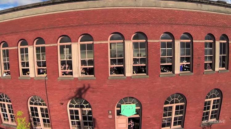 Drone's Eye View Video of the XOXO Festival in Portland, OR