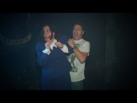 Ellen Frightens Show's Writer & Producer by Sending Them to a Haunted House