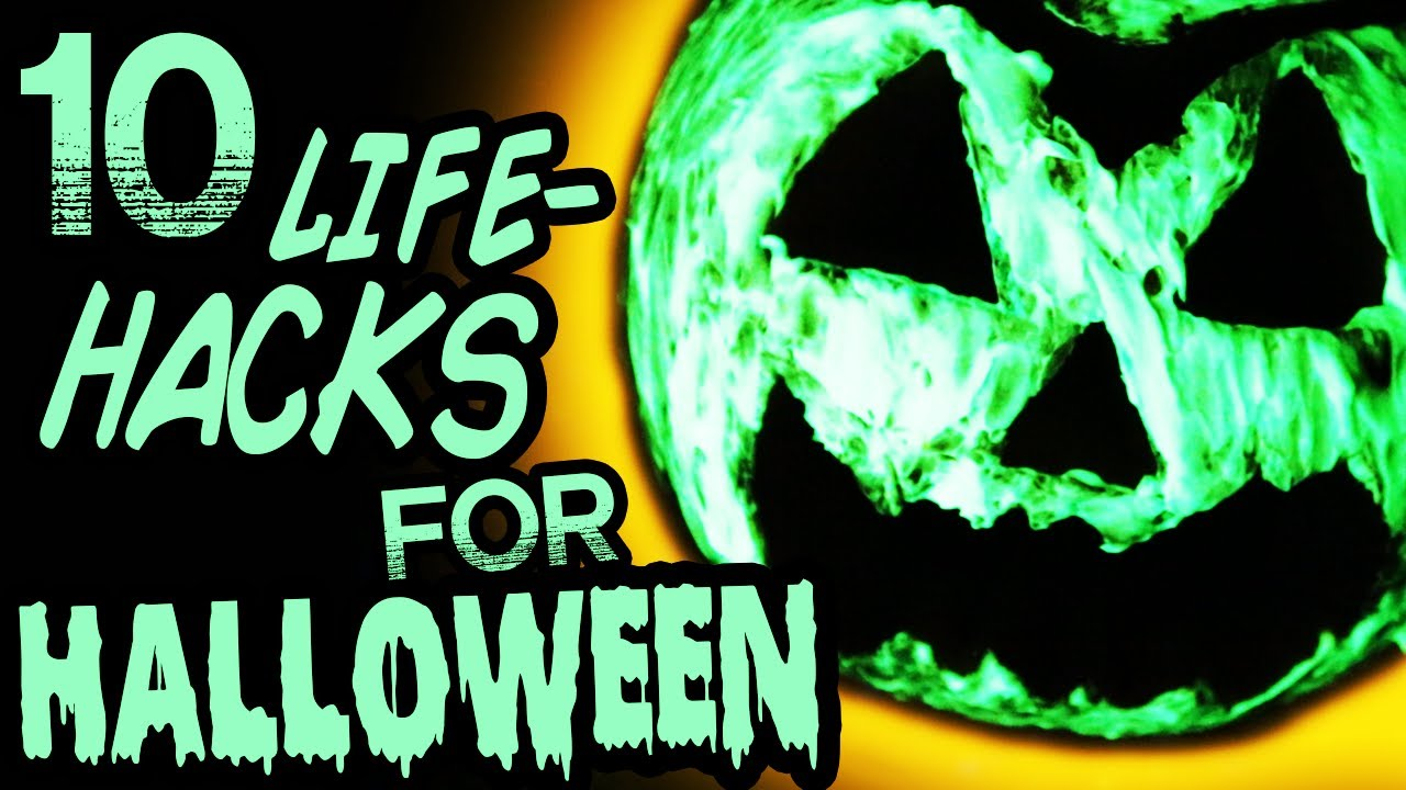 Halloween-Themed Life Hacks and Spooky Crafts