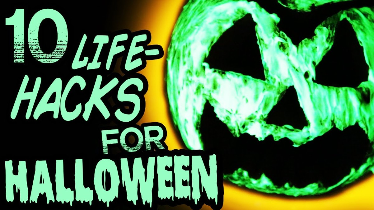 Halloween Themed Life Hacks And Spooky Crafts