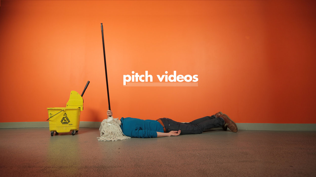 Hilariously bizarre footage from a rejected advertising for Advertising agency pitch